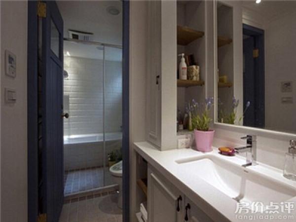 实拍图-干湿分离的卫生间设计效果